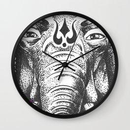 Ganesha Wall Clock