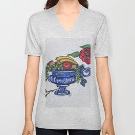 Classic Fruit Bowl Unisex V-Neck