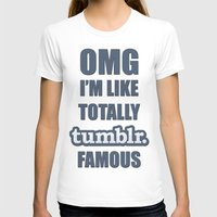 tumblr T-shirts featuring Tumblr Famous by Ferris Bueller