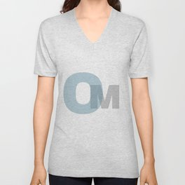 Om Unisex V-Neck