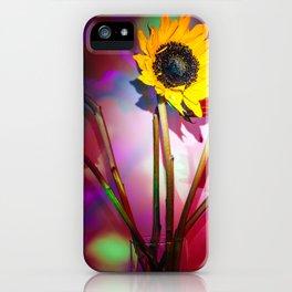 Sunfleurs iPhone Case