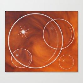 Bubble Madness Canvas Print