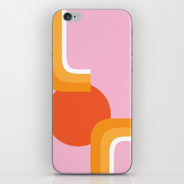 Rolling Sun iPhone Skin
