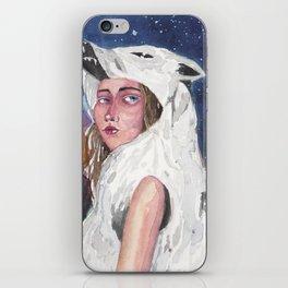 WolfWoman iPhone Skin