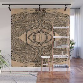 Line Painting Wall Mural