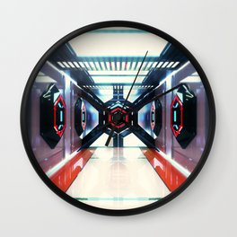 [12/07/16] SCIFI CORRIDOR SHIT Wall Clock