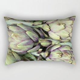 GREEN VEGAN SOUND Rectangular Pillow