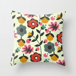 Floral sweetness Throw Pillow