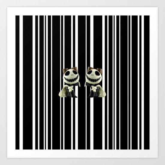 Halloween Prisoner | Jack | Christmas | Nigthmare Art Print