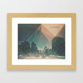 lost angeles. Framed Art Print