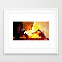 river song Framed Art Prints featuring Find River Song by Nero749