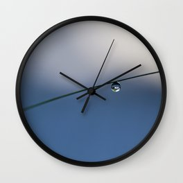 one simple drop Wall Clock
