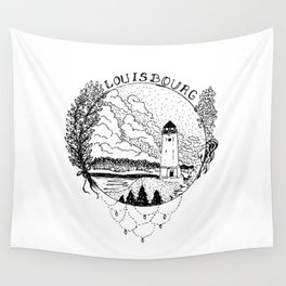 Louisbourg Lighthouse Wall Tapestry