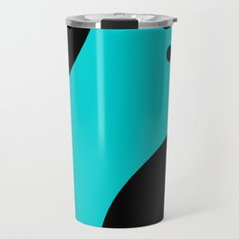 Arbitrary Orbit IV - Abstract Art Travel Mug