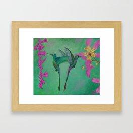 Caribbean Faries Framed Art Print