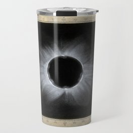 Corona of the Sun during an Eclipse, from Doddabetta, December 11 1871 Travel Mug