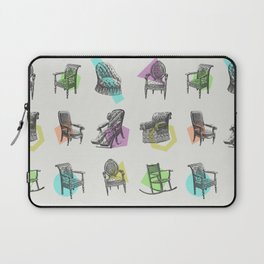 Old Chairs Laptop Sleeve