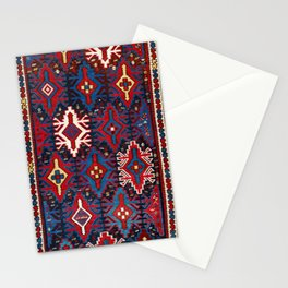 Kuba Caucasian Antique Rug Print Stationery Cards