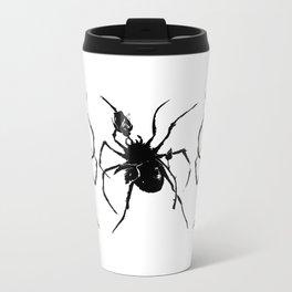 Rose Spider Metal Travel Mug
