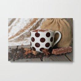 Coffee Time, Any Time Metal Print