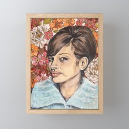 Louisa  Framed Mini Art Print