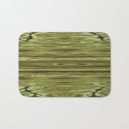 Abstraction Serenity in Pinewood Bath Mat