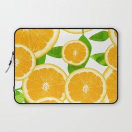orange pattern Laptop Sleeve