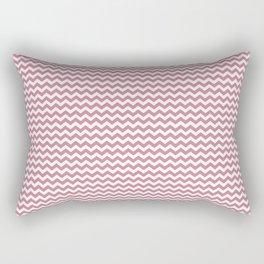 Chevron Rose Rectangular Pillow