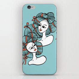 Ramen Girls iPhone Skin