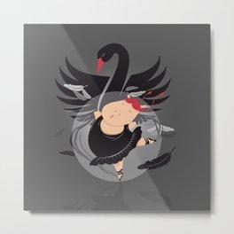 Tifanny - BlackSwan Metal Print