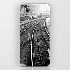 Travelin' Blues iPhone & iPod Skin