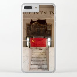 EMIT YOUR LIGHT Clear iPhone Case