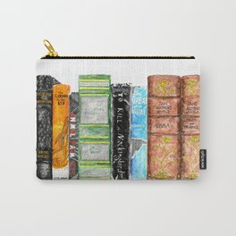 Mixed Classics Bookshelf Carry-All Pouch