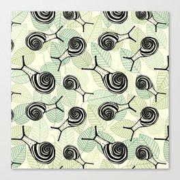 Snails Canvas Print