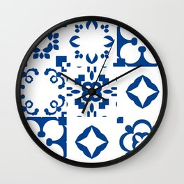 Moroccan pattern Wall Clock