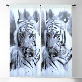 Animals and Art - Tiger Blackout Curtain