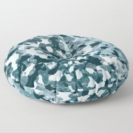 Surfing Camouflage #5 Floor Pillow