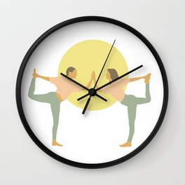 adriene and clio Wall Clock