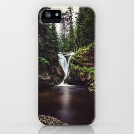 Pure Water - Landscape and Nature Photography iPhone Case