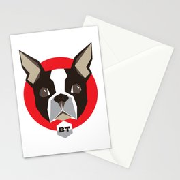 BostonTerrier Stationery Cards