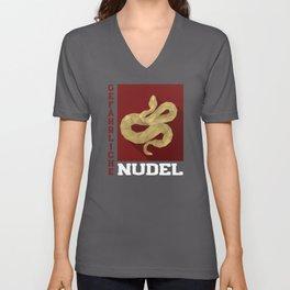 Danger Noodle Unisex V-Neck