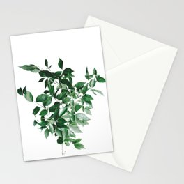 Minimal Greenery Bush (Color) Stationery Cards