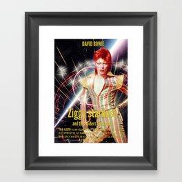 David Bowie - Ziggy stardust Framed Art Print