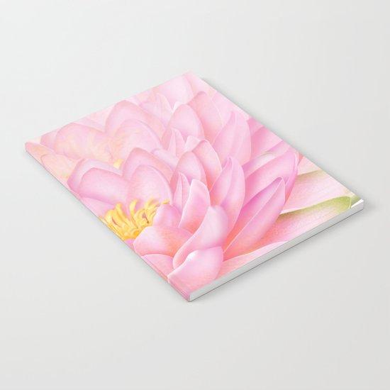 Pink Lotus Notebook