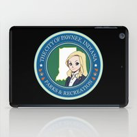 parks and recreation iPad Cases featuring Parks & Rec. by BlackRose Designs