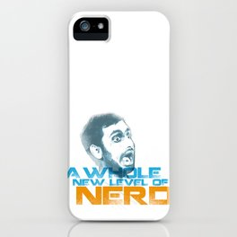 New Level of Nerd iPhone Case