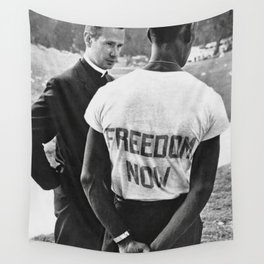 Freedom Now!,60s Wall Tapestry