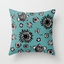Hana Matsuri Throw Pillow
