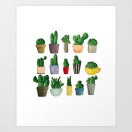 so many plantsss Art Print