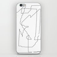 maps iPhone & iPod Skins featuring Maps  by short stories gallery